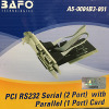 BAFO - PCI Card Serial RS232 - Parallel (2 Port Serial + 1 Port Parallel) - BAFO PCI 2S1P - A5-0004B3-001