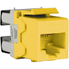 Schneider Electric Modular Jack CAT 5e - UTP Keystone Yellow [DCEKYSTUYL]