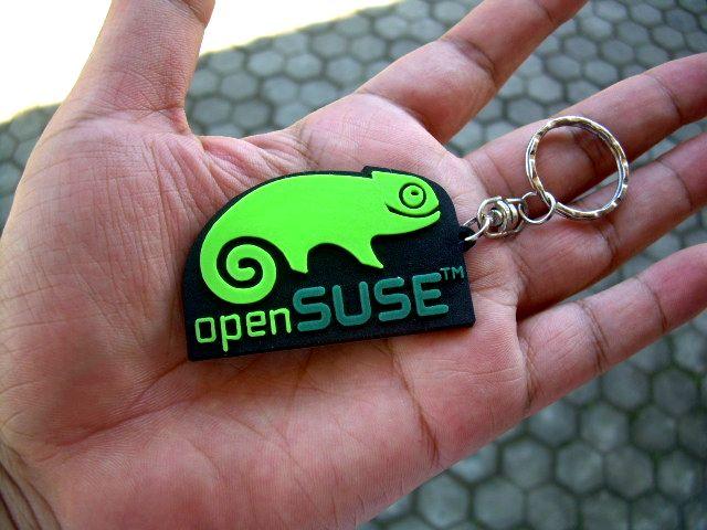 JUAL Gantungan Kunci: openSuSE Rp.6.500 MURAH - BALIWAE