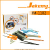 Jakemy 9 In 1 Precision Screwdriver - Obeng DIY