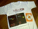 Paket ULTIMATE MIKROTIK: 2 buku cetak + 2 CD Software, Video, Tutorial, Script) + 1 Kaos Mikrotik Limited Editon