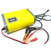 Setrum Aki Motor / Mobil Portable - Charger Aki Motor - Portable Motorcrycle Car Battery Charger 12V/6A