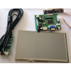 LCD Raspberry Pi 7inch TFT + Touch Screen - Support VGA Input, Video input, HDMI Input
