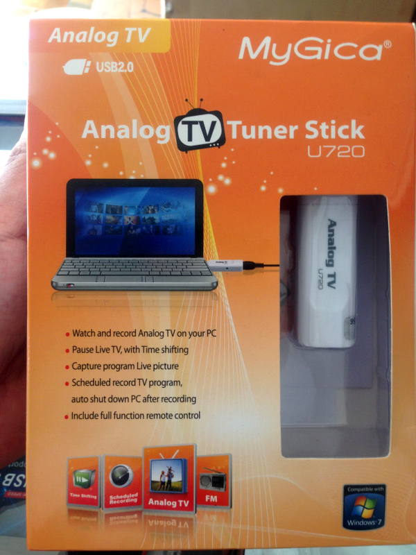Jual Usb Tv Tuner Mygica Analog Tv Tuner Usb U720