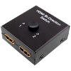 2 in 1 Switch HDMI - Bi-Directional Dua Arah -  2x1 Switch atau 1x2 Switch Selector  - 2 Port HDMI 3D 1.4V