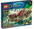LEGO 70006 CHIMA - Cragger\'s Command Ship (609 Pieces)