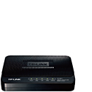 TP-Link ADSL2+ Ethernet/USB Modem Router TD-8817C (MODEL TERBARU! SUPPORT IPV6)