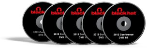 DVD Seminar BlackHat 2012 (1 Set 5 DVD)