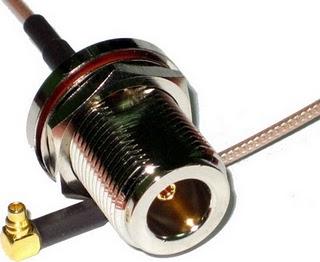 JUAL Kabel Pigtail MMCX To N Female Rp70000 MURAH