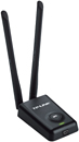 TP-LINK USB Wireless: 300Mbps High Power Wireless Adapter TL-WN8200ND - Tembus tembok - 2 x antenna 5dBi