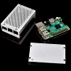 Casing Aluminium Raspberry Pi 3 Model B+ - Metal - Casing Raspi