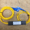 Splitter FO - Splitter Fiber Optic - Passive Splitter - 1 To 2 - Konektor SC - Dual Window Coupler