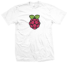 Kaos Raspberry Simple - White