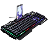 Leopard G700 Gaming Keyboard LED - Hitam