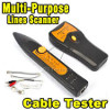 Kabel LAN Tester Multi Purpose With Tracker / Tracer TM-8 - Cable Scan and Finding + Tas + Baterai + Tools (Barang halus berkualitas)
