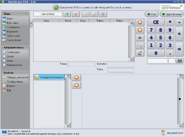 أروع برنامج لنقاط البيع OpenBravo POS مفتوح المصدر بالجافا وشرح كيفية التعديل عليه من خلال netbeans Openbravo