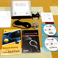 Paket HackFu 2015: 1 USB Outdoor GS-USB30 (30dBm, kabel usb 5meter, antena panel 12dBi, casing outdoor waterproof) + Buku Backtrack 100% + Buku Kali Linux 200% + + 1 DVD Backtrack 5R3 + 1 DVD Kali Linux + 1 DVD Tutorial Backtrack