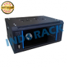 INDORACK WIR4504S - Wallmount Rack Server 4U Single Door - 19inch - Hitam
