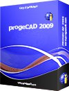 progeCAD 2009 Smart! for Linux/Win + Tutorial (1 CD)