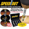 Screw Extractor Broken Striped Screw Remover - Pelepas Sekrup Rusak