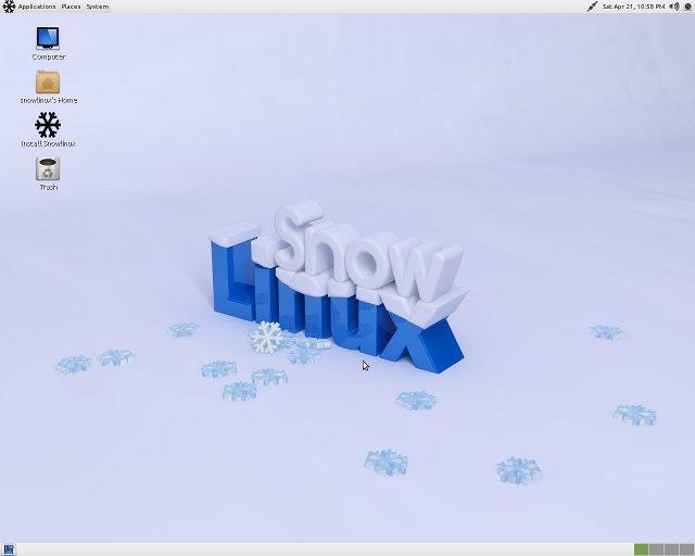 JUAL Snowlinux 2 LXDE i386 (1 CD) Rp 5 000 MURAH - BALIWAE