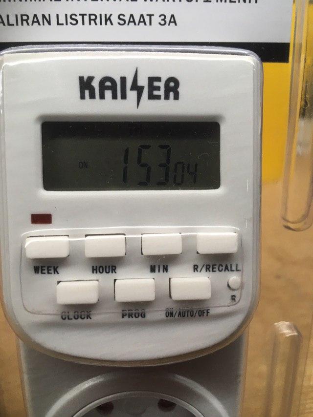 JUAL KAISER - Timer Listrik Digital Rp 135 000 MURAH