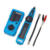 Wire Tracker LAN + LAN TESTER RJ45 RJ11 Coaxial Cable - RJ45 RJ11 CAT5 CAT6 - FWT11 - Blue - Cable Scan Finding