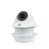 "Ubiquiti UniFi® Video Camera DOME / UVC Dome Ceiling-Mount IP Camera with Infrared for Indoor - 720p HD, 30 FPS, 1.96 mm/F2.0, 1/4"" CMOS"